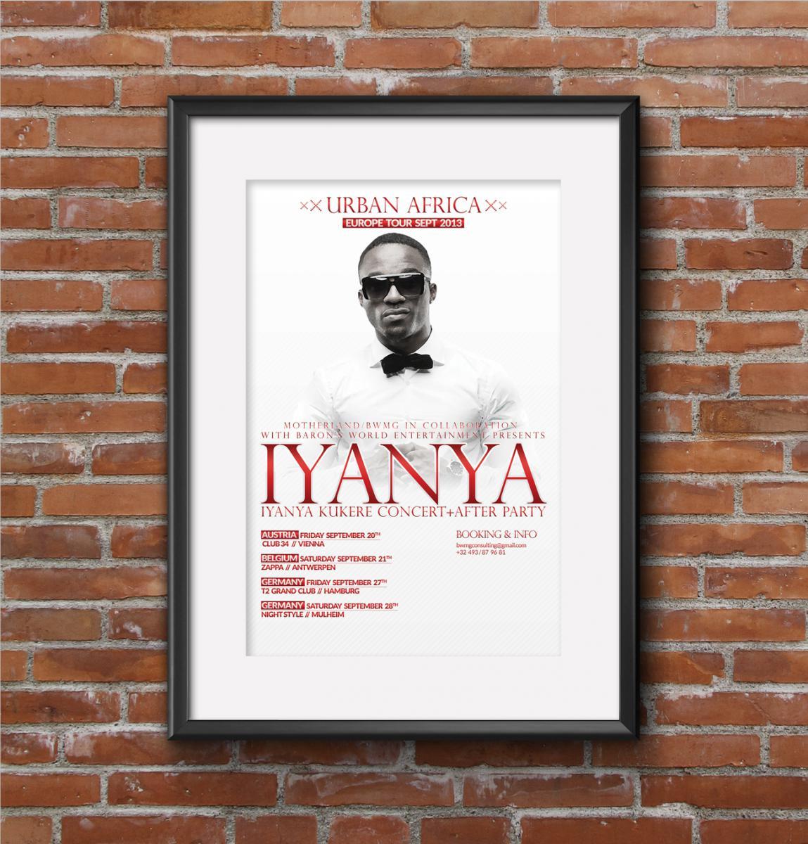 Iyanya poster